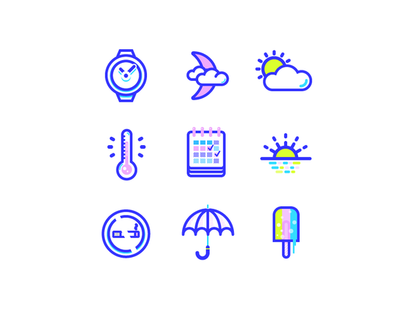 Eye candy icons