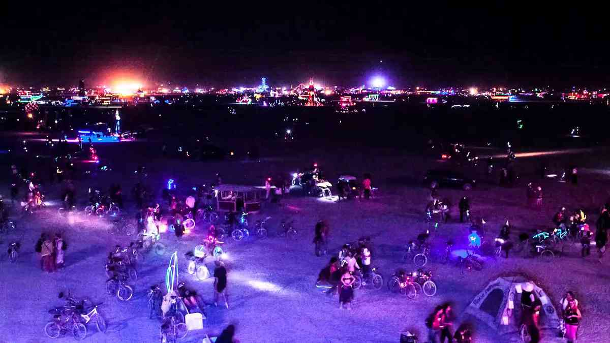 Burning Man 2012 Timelapse