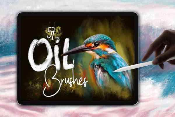 Oil Brushes for Procreate