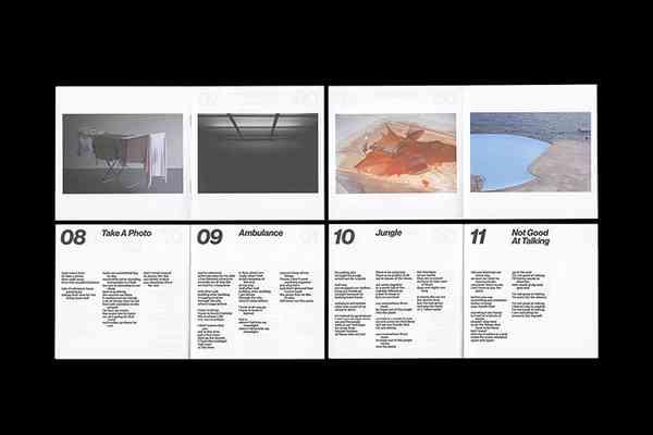 It's Nice That | Swiss undergrad Dominik Junker's portfolio of minimal graphic design