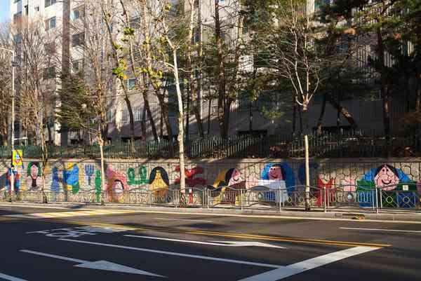 Jungnang-gu mural project
