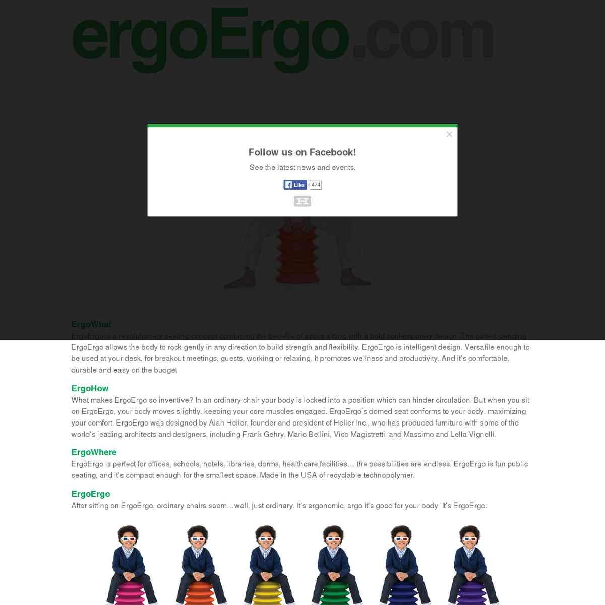 Ergo Ergo http://www.ergoergo.com