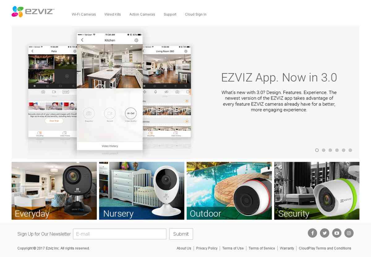 EZVIZ - Security Camera Kits, Wi-Fi Cameras, and Action Cams