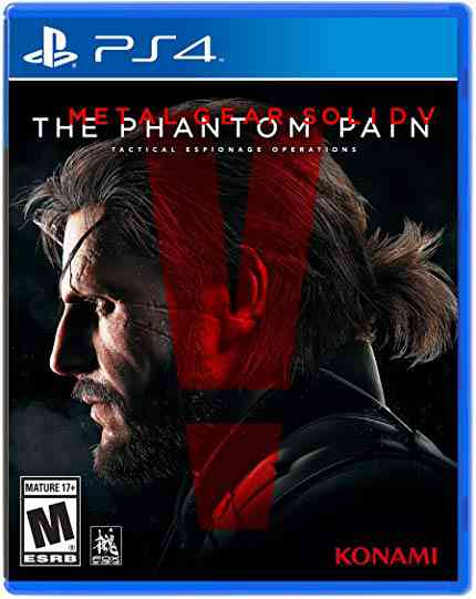 Metal Gear Solid V: The Phantom Pain - PlayStation 4: Konami of America: Video Games