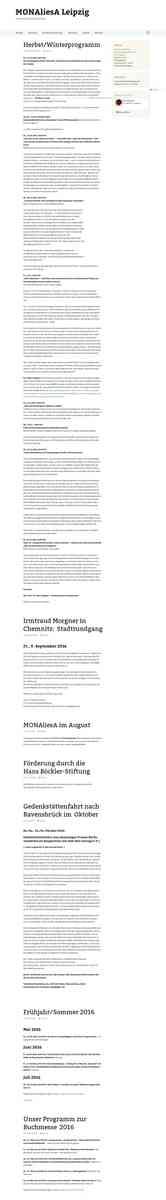 MONAliesA Leipzig | Frauen- & Genderbibliothek | Mädchenarbeit