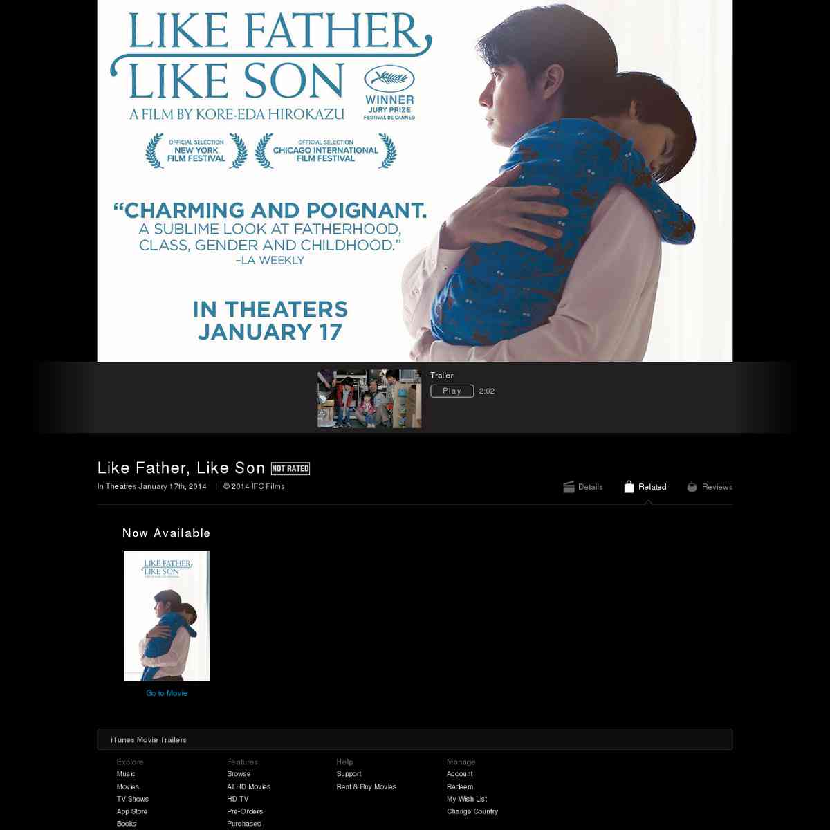 Like Father, Like Son - Movie Trailers - iTunes
