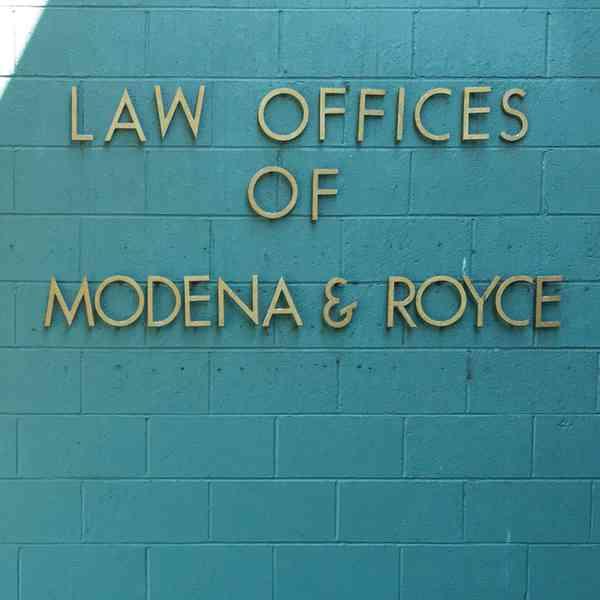 Law Offices of Modena & Royce