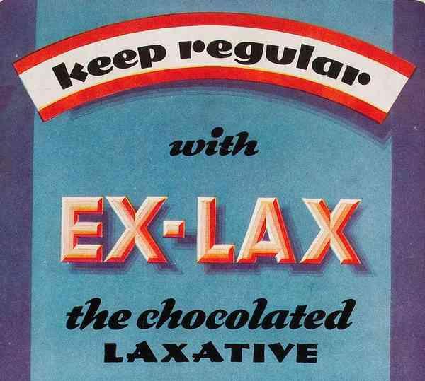 1933 Ex-Lax ad