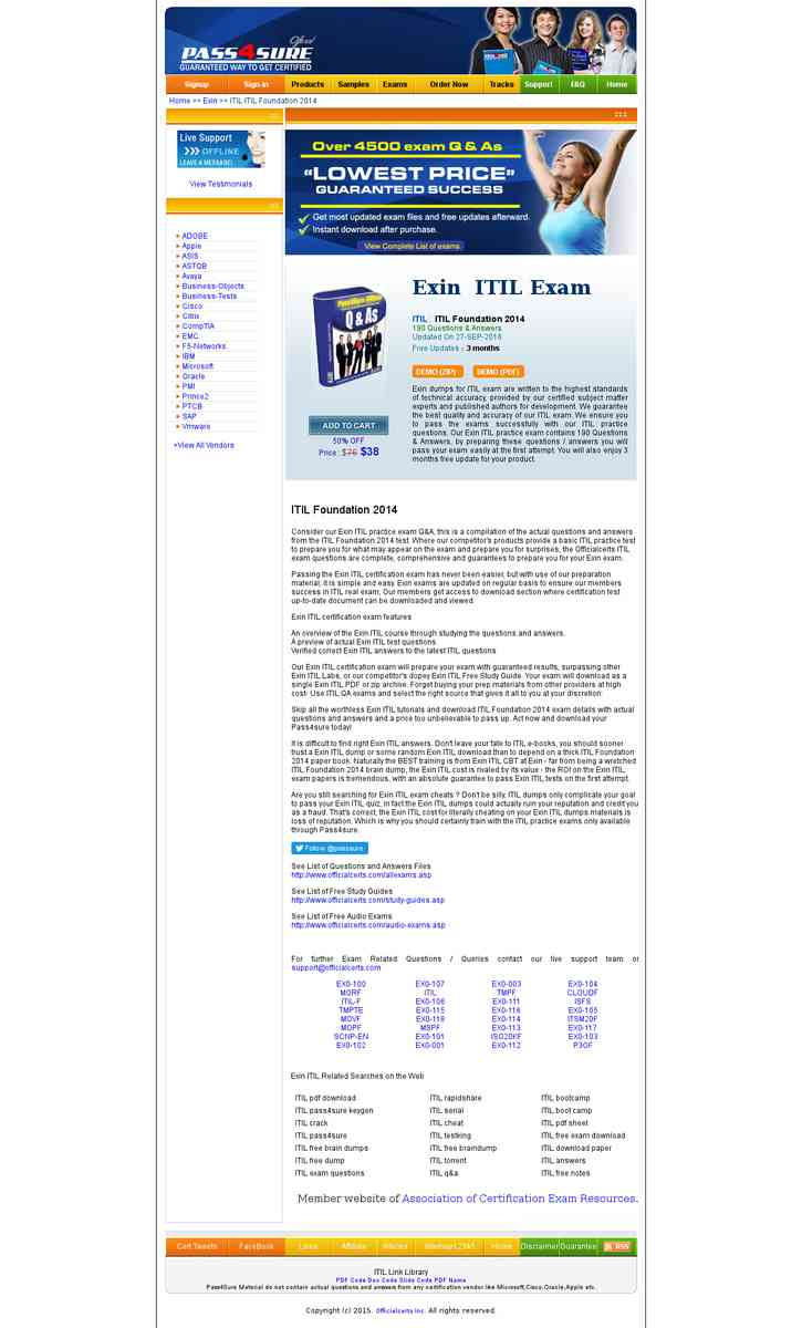 Itil itil v3 foundation free pass4sure itil itil v3 foundation 1betcityfo Image collections