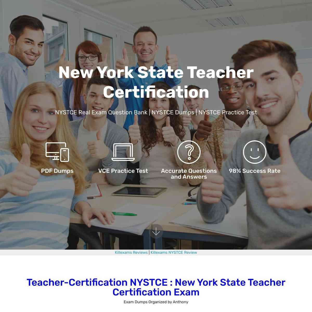 Click and download NYSTCE exam Latest Questions and Exam Questions
