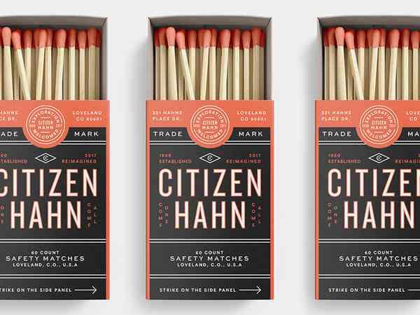 Citizen Hahn #Packaging