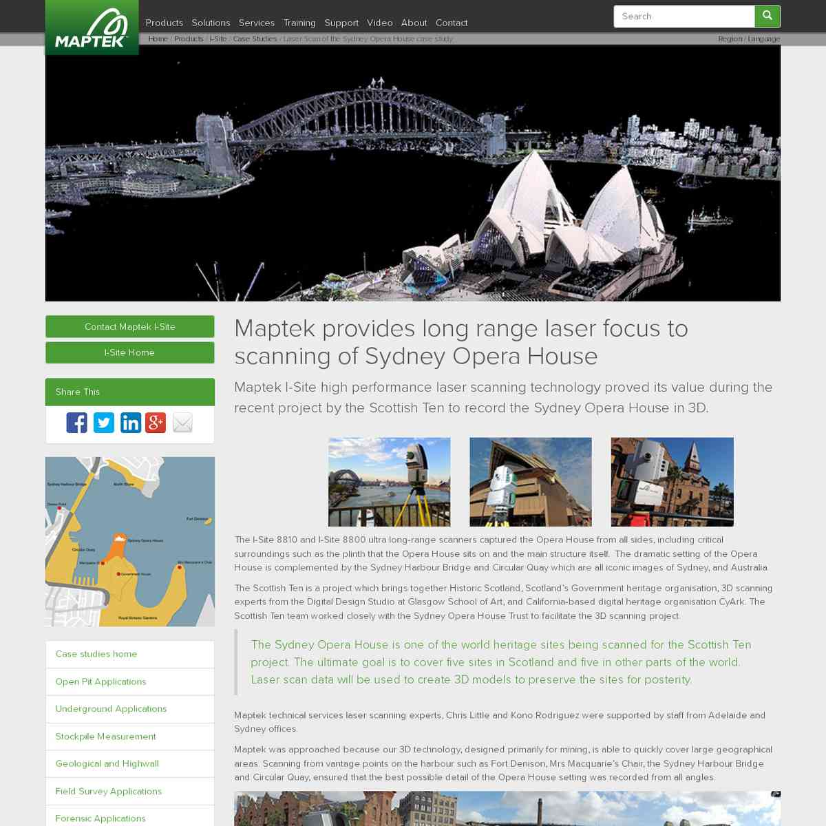 maptek.com/products/i-site/case_studies/sydney_opera_house.html