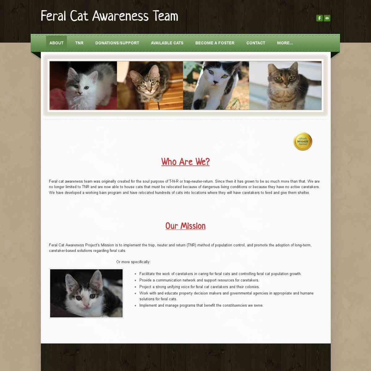 Feral Cat Awareness Team