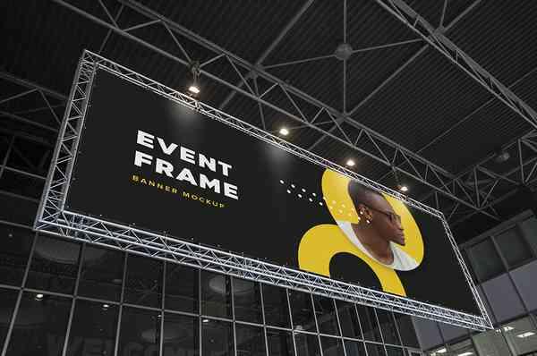 Event Billboard Mockup