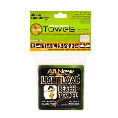 """All New Extra Strength Beach Towels 1 Piece 36x60"""" Lightload Towels - Lightload Towels"""