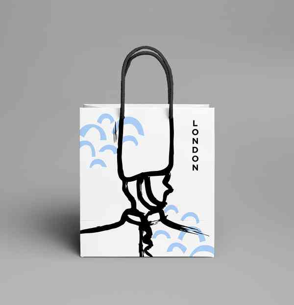 Collectible City Shopping Bags