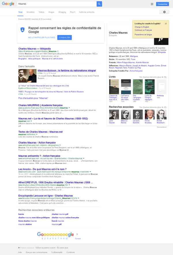 Maurras - Recherche Google