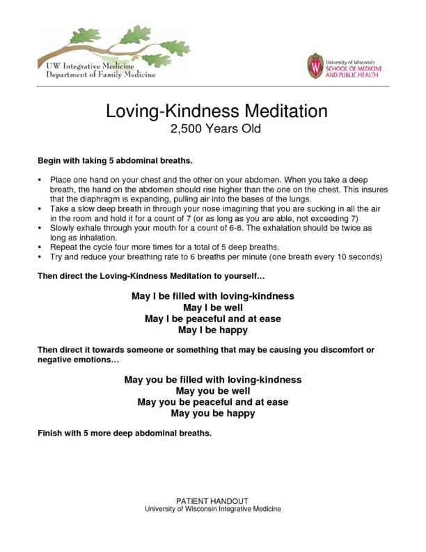 Loving Kindness Meditation