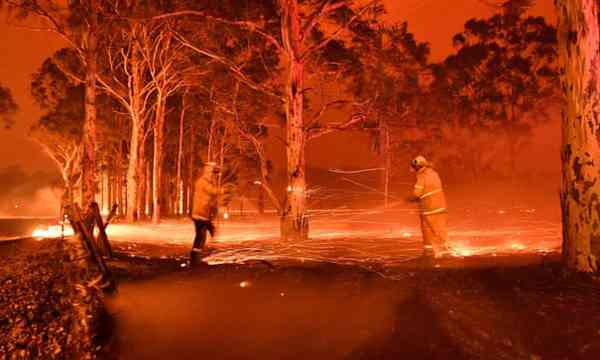 News: The bushfires are a national catastrophe for the city and country. How are we going to live l…