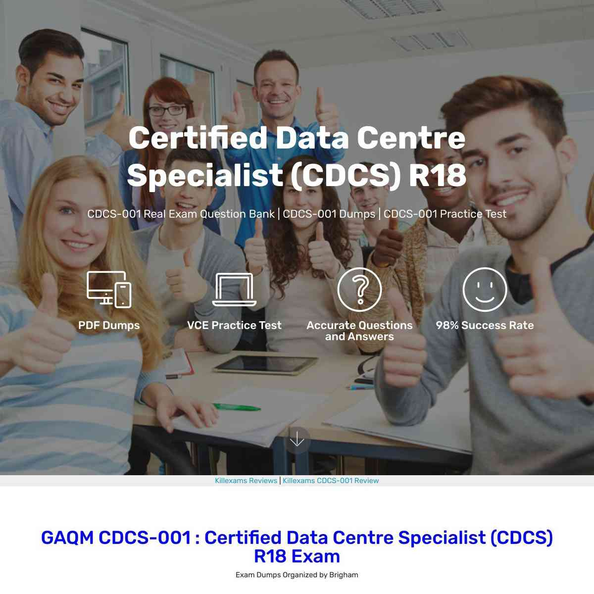 Finalize your CDCS-001 Practice Test with these CDCS-001 Exam Questions and Actual Questions