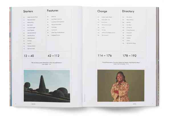 Kinfolk | Table of contents