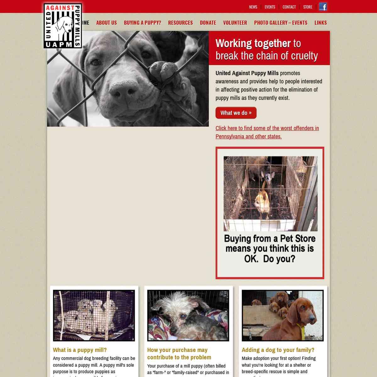 United Against Puppy Mills