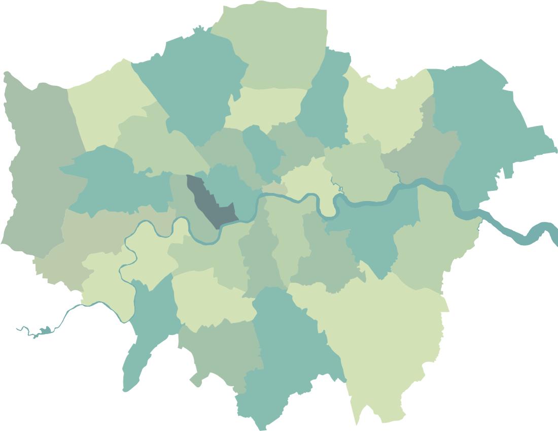 16. Kensington and Chelsea