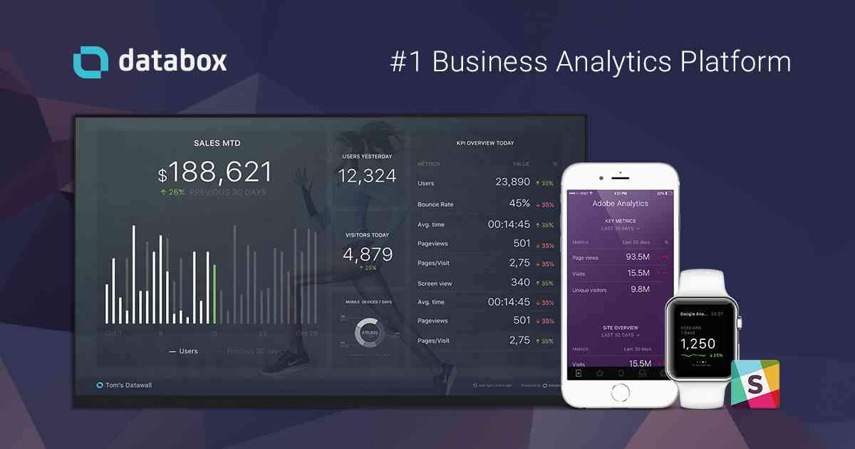 Mobile-First KPI Dashboards for Business | Databox