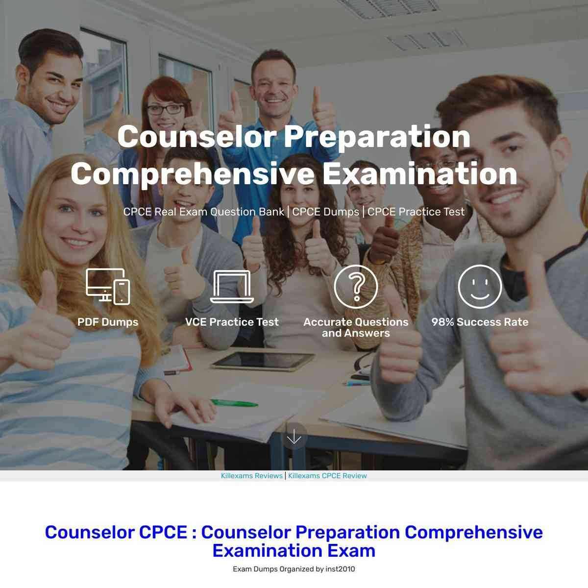 0day Updated Pass4sure CPCE Exam Questions