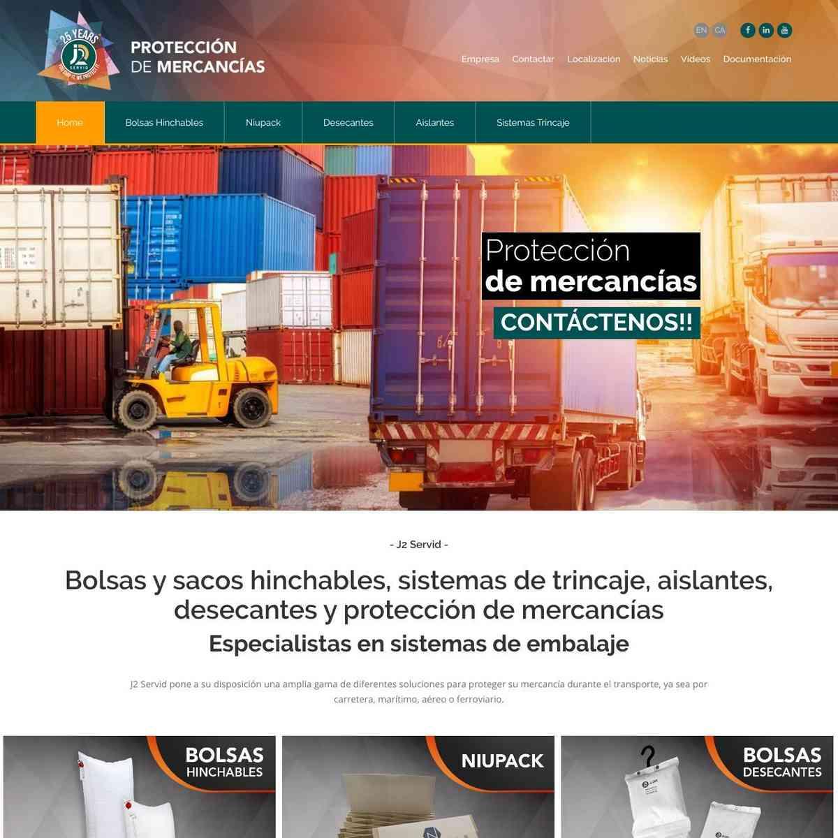 Bolsas y sacos hinchables, protección de mercancías