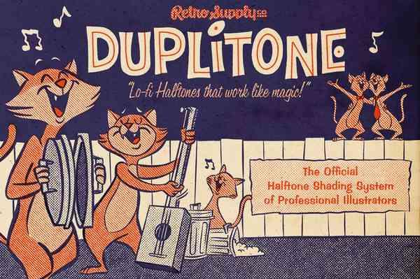$ DupliTone Halftones