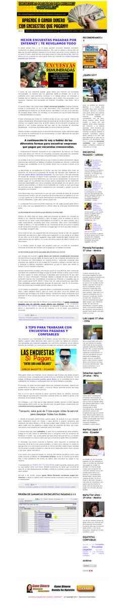 ENCUESTAS PAGADAS POR INTERNET CONFIABLES