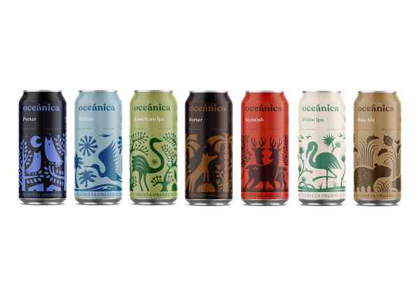Cerveza Oceánica   Cans
