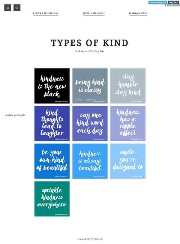 30 Shades of Kind