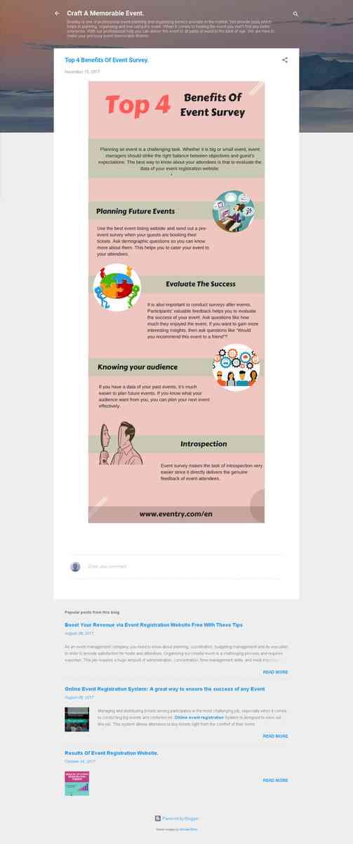 Top 4 Benefits Of Event Survey.