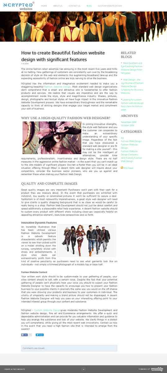 fashion-website-design.weebly.com/blog/how-to-create-beautiful-fashion-website-design-with-signific…