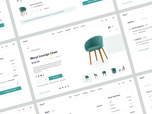 Furniture Store E-commerce