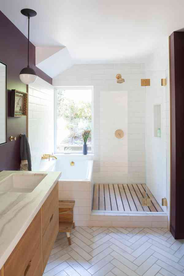 West Marin Organic Remodel - Midcentury - Bathroom - San Francisco - by Craig O'Connell Architecture