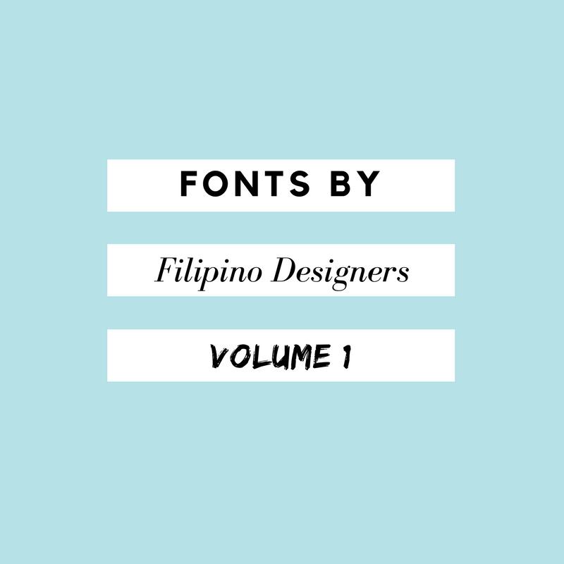 Fonts by Filipino Designers Volume 1   Diwa Daily