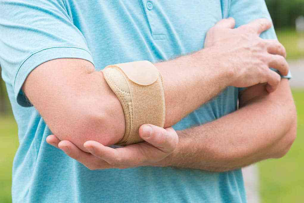 Tennisalbue | Smerter i albue | Behandling | Symptomer | Øvelser | Bandage | Bind | Golfalbue og m…