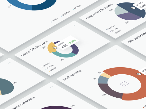 Pie chart exploration by Nikita Pashinsky - Dribbble