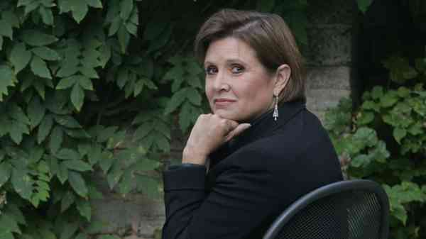 Carrie Fisher the writer