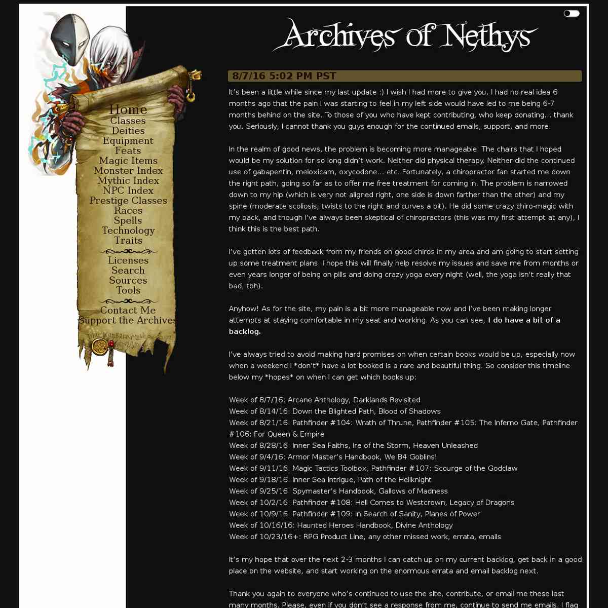 resource - Archives on Nethys