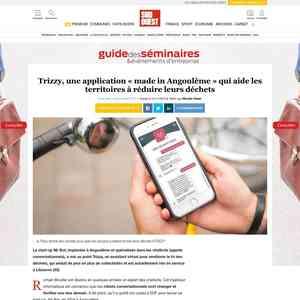 Trizzy, une application «made in Angoulême» qui aide les territoires à réduire leurs déch…