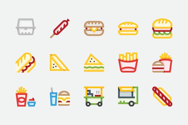 $ Fast Food
