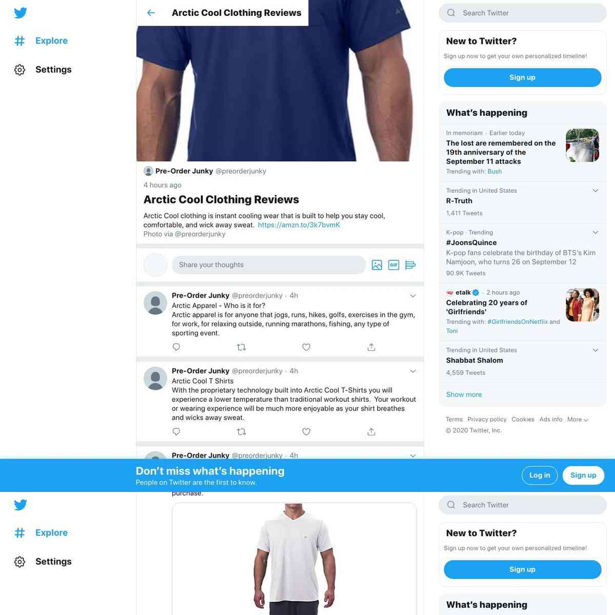 Arctic Cool Clothing Reviews