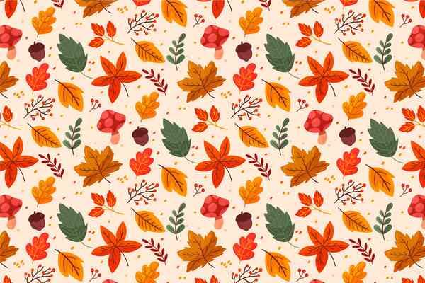 $ Autumn Pattern