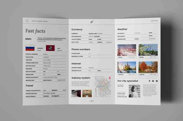 Moscow city guide   Brochure