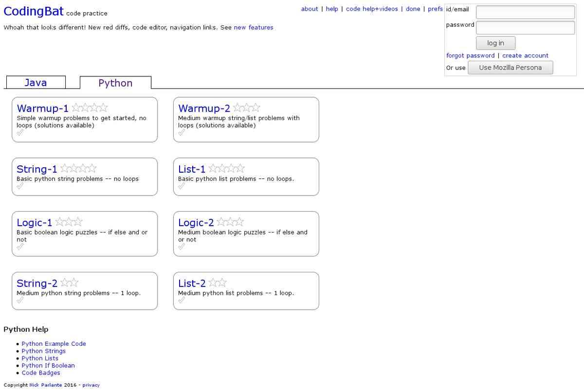 Codingbat 1