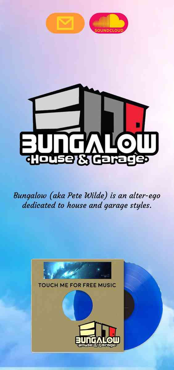 Bungalow house & garage